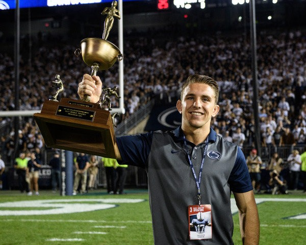 PENN LIVE: Penn State's Zain Retherford wins 2nd straight Hodge Trophy as nation's best college wrestler